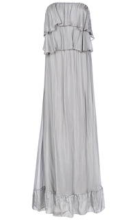 Платье с воланами Compagnia Italiana