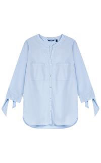 Голубая рубашка Tom Tailor