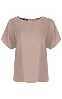бежевая блузка La Reine Blanche