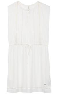 белое платье Pepe Jeans London