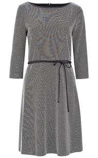 Трикотажное платье с поясом S.Oliver