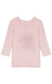 Розовая футболка с декором Betty Barclay