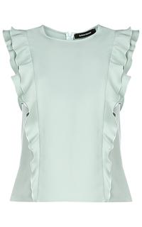 Мятная блузка La Reine Blanche