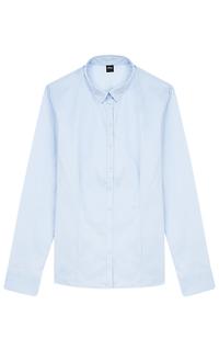 женская голубая рубашка S.Oliver