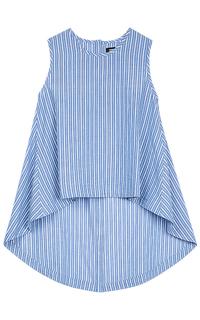 Хлопковая блузка La Reine Blanche