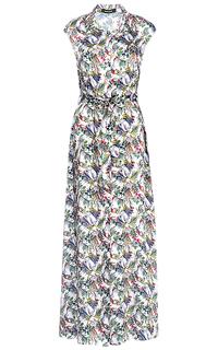 Платье макси с поясом La Reine Blanche