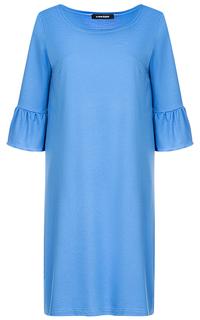 Хлопковое платье с воланами La Reine Blanche