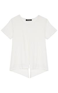 асимметричная блузка La Reine Blanche