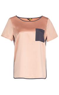 Розовая блузка Dept