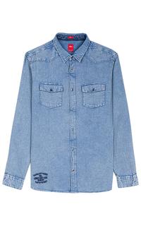 Мужская джинсовая рубашка S.Oliver Casual Man