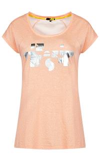 Розовая футболка Dept