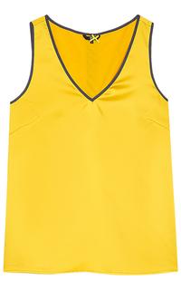 Желтая блузка Dept