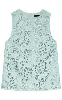 Кружевная блузка La Reine Blanche