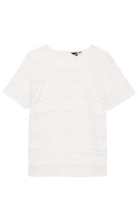Белая блузка Dept