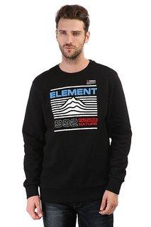 Толстовка классическая Element Hodges Crew Flint Black