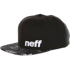 Бейсболка с прямым козырьком Neff Daily Pattern Cap Black/Floral