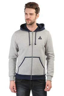 Толстовка классическая Le Coq Sportif Hood Light Heather Grey/Dress