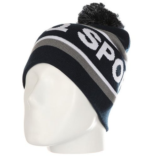 Шапка Le Coq Sportif Negel Pompon Beanie Dress Blues