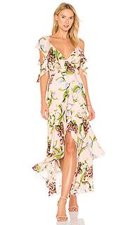 Wrap flounce dress - NICHOLAS