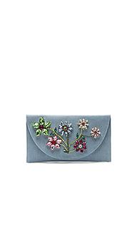Клатч с цветочным принтом - Mystique