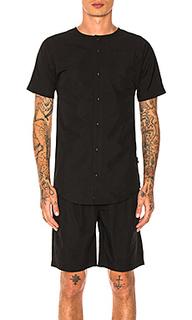 Рубашка на пуговицах rhyss - Publish