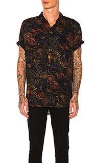 Рубашка на пуговицах electric beach - ROLLAS