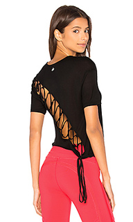 Плетенная футболка с коротким рукавом - alo