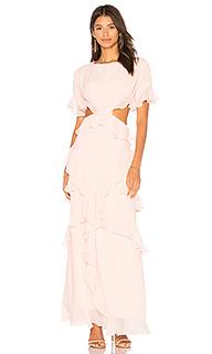 Платье со сборками marisa - FAME AND PARTNERS