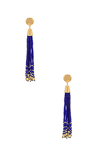 Salina beaded tassel earrings - gorjana