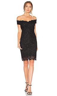 Кружевное платье с открытыми плечами tara - Bardot