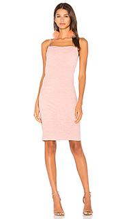Текстурированное замшевое платье-комбинация - MINKPINK