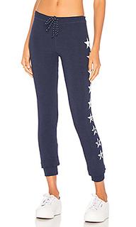Узкие спортивные брюки со звёздным принтом - SUNDRY