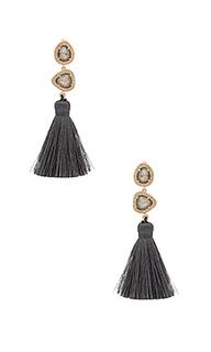 Trio tassel earring - Melanie Auld