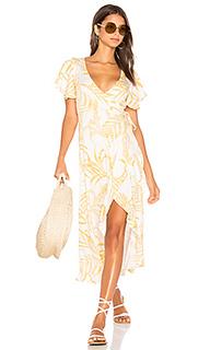 Платье с запахом paradise waterfall - MINKPINK