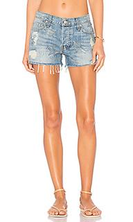 X revolve austin shorts with stars - Rails