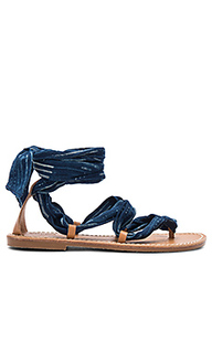 Indigo bandana sandal - Soludos