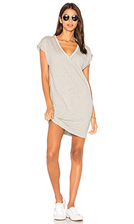 Steffi deep v pocket dress - Nation LTD
