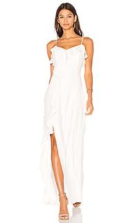 Комбинированное платье bellaire - Parker