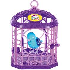 Интерактивная птичка в клетке, голубая, Little Live Pets, Moose
