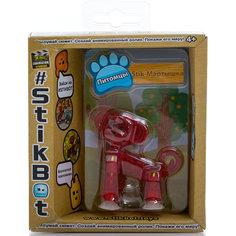 Фигурка питомца Мартышка, красная, Stikbot Zing