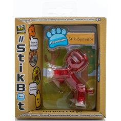Фигурка питомца Бульдог, красный, Stikbot Zing