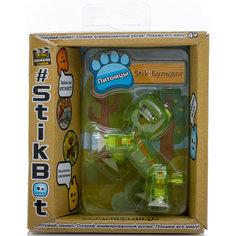 Фигурка питомца Бульдог, зеленый, Stikbot Zing