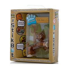 Фигурка питомца Кот, коричневый, Stikbot Zing