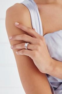 Кольцо с кристаллом Lisa Smith