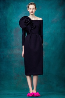Платье-футляр Delpozo