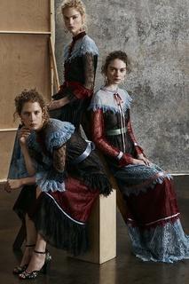 Кружевное платье Jacqueline Erdem