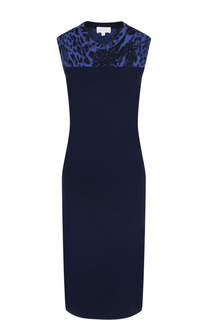 Приталенное платье-миди без рукавов Escada Sport