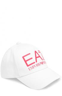 Бейсболка с логотипом бренда Ea 7