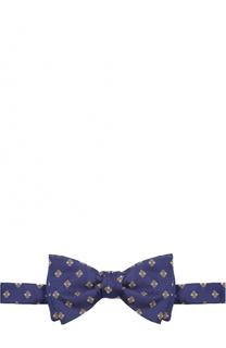 Шелковый галстук-бабочка с узором Eton