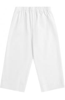Укороченные хлопковые брюки свободного кроя Il Gufo